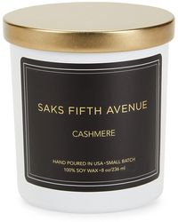 Saks Fifth Avenue Cashmere Candle - Black