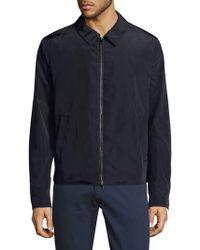 Pal Zileri - Full-zip Collared Jacket - Lyst