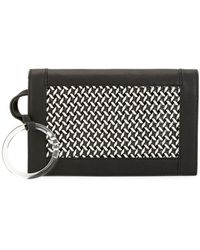 Vince Camuto Woven Clutch - Black
