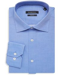Bugatchi - Shaped-fit Cotton Dress Shirt - Lyst