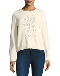 Equipment - Barin Pineapple Sweater - Lyst
