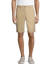 Tommy Bahama Cotton Cargo Shorts - Natural
