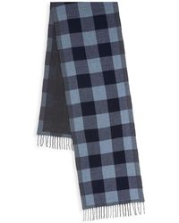 Saks Fifth Avenue - Double Faced Wool Scarf - Lyst