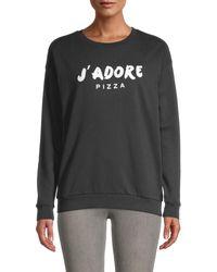 South Parade Raglan Sleeve Sweatshirt - Black