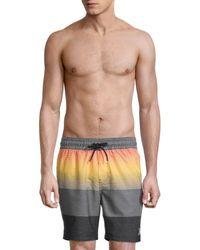 Hurley Colorblock Volley Swim Shorts - Black
