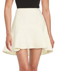 Rachel Zoe - Flared Mohair, Wool And Alpaca Skirt - Lyst