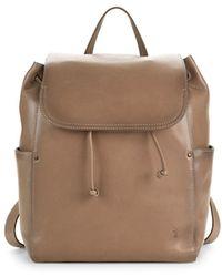 Frye - Olivia Leather Backpack - Lyst