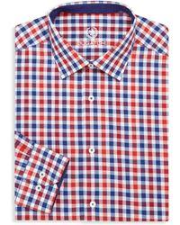 Bugatchi - Cotton Check Dress Shirt - Lyst