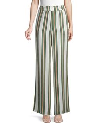 BCBGeneration Striped Wide-leg Trousers - Multicolour