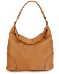 Frye Madison Leather Hobo Bag - Brown