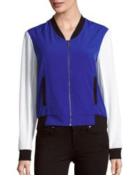 Drew - Colorblock Baseball Jacket - Lyst