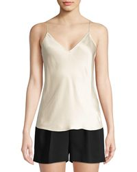 Theory Easy Slip Stain Tank Top - Natural