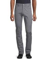 BOSS by Hugo Boss Men's Delaware 3 Slim-fit Five-pocket Trousers - Grey - Size 32 34