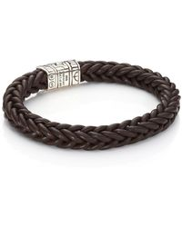 John Hardy - 40th Anniversary Classic Chain Leather Bracelet - Lyst