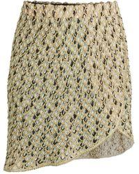 Missoni Metallic Mini Skirt