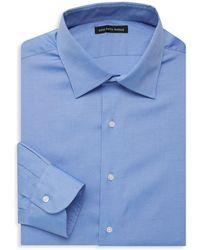 Saks Fifth Avenue Black - Classic Slim-fit Dress Shirt - Lyst
