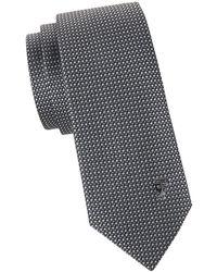 Versace - Square Printed Silk Tie - Lyst
