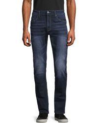 Buffalo David Bitton Max-x Basic Skinny Stretch-fit Jeans - Blue
