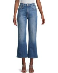 Current/Elliott The Femme Kick Flare Jeans - Blue