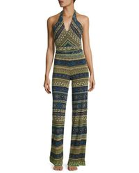 Jean Paul Gaultier - Jewelry Printed Cover Up Pants - Lyst