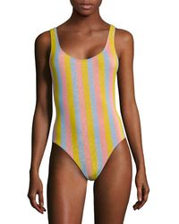 Solid & Striped The Anne-marie One-piece Swimsuit - Multicolor