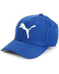 PUMA Evercat Stretch-fit Mesh Cap - Blue