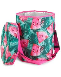 MYTAGALONGS Watermelon Insulated Cooler Bag - Pink
