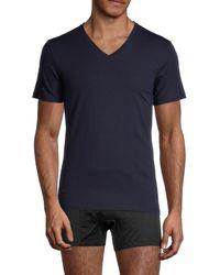 La Perla V-neck T-shirt - Black