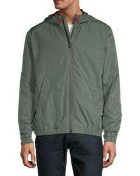 Zadig & Voltaire Blast Tech Hooded Jacket - Green