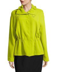 ESCADA - Berezi Solid Long-sleeve Jacket - Lyst