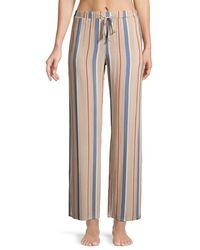 Hanro Sleep & Lounge Woven Trousers - Multicolour