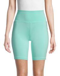 Kappa X Juicy Couture Logo-tape Biker Shorts - Green
