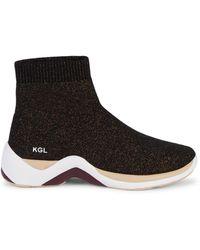Kurt Geiger Linford Sock Sneakers - Black