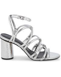Rebecca Minkoff Apolline Metallic Strappy Sandals