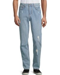 Standard Issue Distressed Jeans - Blue
