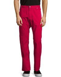 Façonnable - Solid Cotton Jeans - Lyst