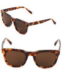 Linda Farrow - 50mm Square Sunglasses - Lyst
