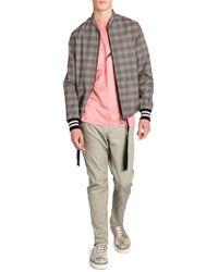 Lanvin - Prince Of Wales Wool Racing Jacket - Lyst