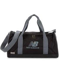 New Balance Men's Sport Logo Duffel - Black