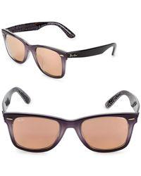 Ray-Ban - 52mm Wayfarer Sunglasses - Lyst