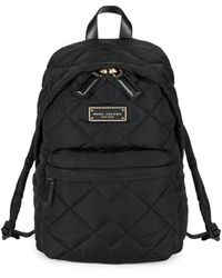 Marc Jacobs Quilted Nylon Backpack - Ash - Blue