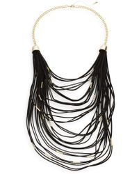 Saks Fifth Avenue - Faux Suede Multi-layered Necklace - Lyst
