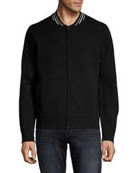 Vince Varsity Jacket - Black