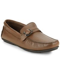 Bacco Bucci - Polis Leather Loafers - Lyst