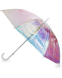 Shedrain Waterproof Iridescent Umbrella - Multicolour