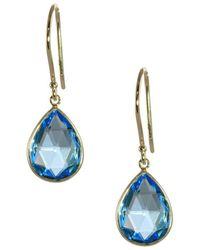 Saks Fifth Avenue - 14k Yellow Gold Pear Shaped Tear Drop Earrings - Lyst