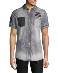 Buffalo David Bitton Sabbath Button-down Shirt - Black