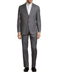 Michael Bastian - Plaid Wool Suit - Lyst