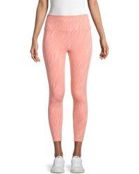 Nanette Lepore Printed Leggings - Pink
