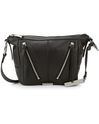Vince Camuto - Textured Leather Crossbody Bag - Lyst